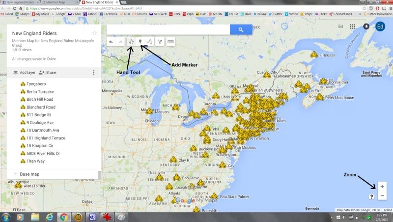 member map screenshot