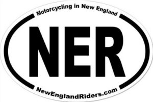 NER oval sticker