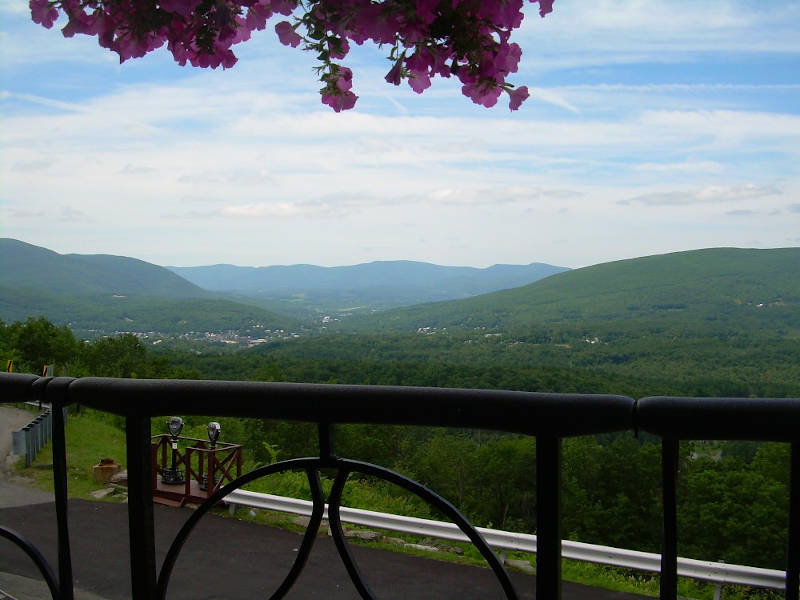 Mohawk Trail Hairpin View