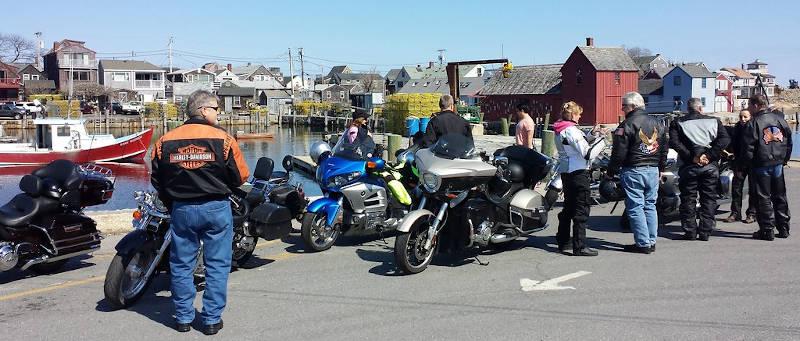 Rockport Wharf View