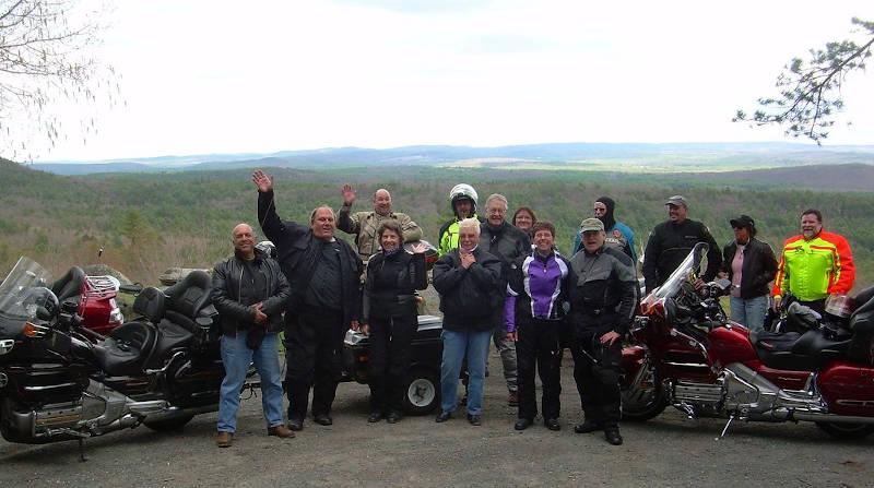 US 202 Quabbin Lookout View