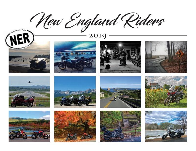 NER 2019 Calendar cover